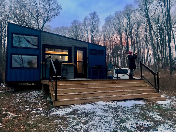 Winter Off-Grid Cabin Adventures – Day 1